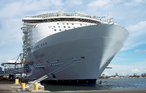 Photo of Oasis of the Seas goes here.