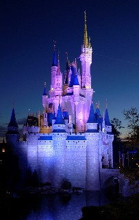 Photo of Cinderella's Castle goes here.