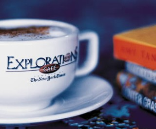 Photo of Explorations Cafe goes here.