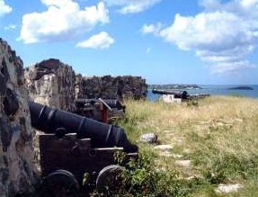Photo of Philipsburg area fort goes here.
