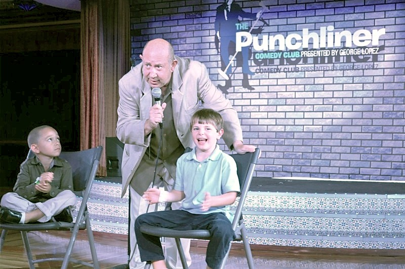 Photo of Casey Dinnigan at Punchliner Comedy Club goes here.*