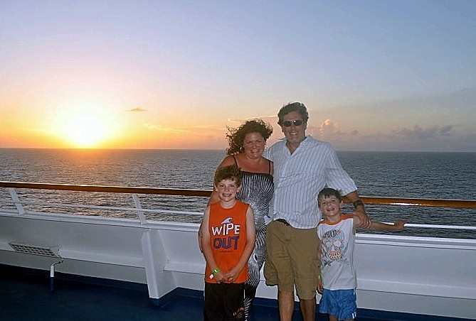 Photo of Dinnigans at sunset onboard Carnival Splendor goes here.*
