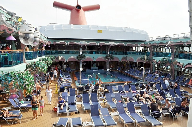 Photo of Carnival Splendor Main Pool area goes here.*