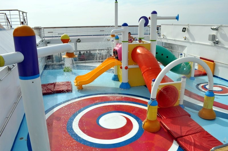 Photo of water splash area for young children on Carnival Splendor goes here.*