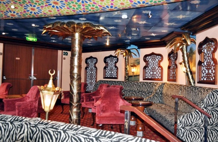 Photo of El Morocco Lounge on Carnival Splendor goes here.*