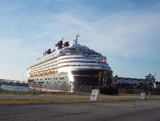 Photo of Disney Wonder goes here.