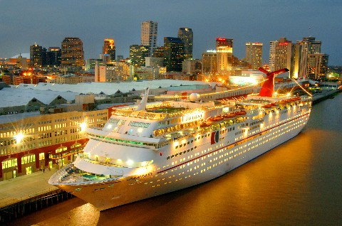 Carnival Cruise New Orleans Port Detlandcom - New orleans cruise ship terminal