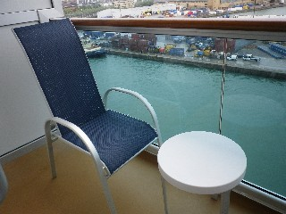 Photo of Balcony Stateroom Exterior Space goes here.*