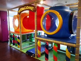 Photo of kids' club area on Royal Princess goes here.*