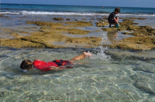 Photo of snorkeling on Grand Turk goes here.