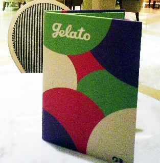 Photo of Gelato menu goes here.*