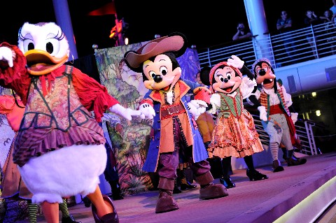 Photo of Mickey's Pirates in the Caribbean goes here.