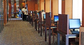 Photo of Internet Cafe goes here.
