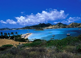 Photo of stunning scenery on St. Maarten/St. Martin.