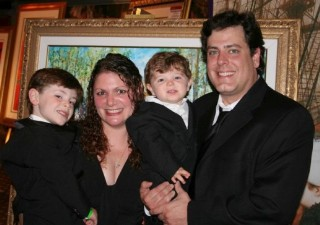 Photo of the Dinnigan family on formal night goes here.