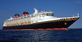 Photo of Disney Cruise Line ship goes here.