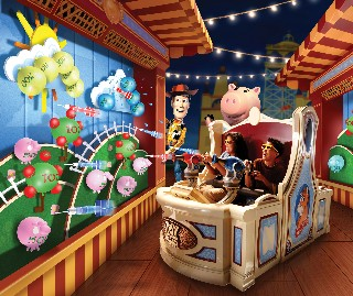 Photo of Toy Story new attraction goes here.